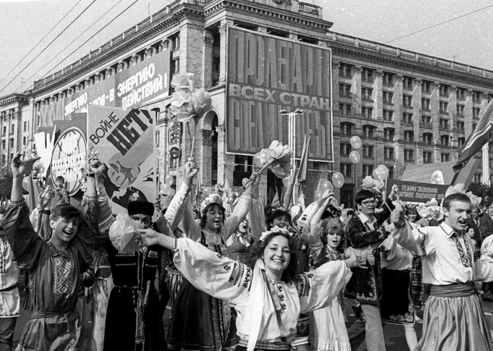 История Украины Чернобыльский фотограф